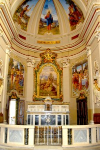 Chiesa di S. Giovanni Battista, interno.